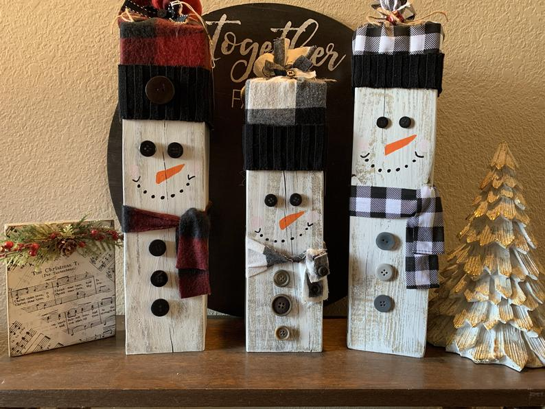 Youth Activity: Make a Wooden Snowman