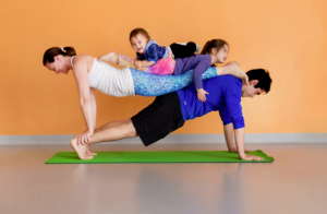 Outdoor Family Fun Yoga (all ages welcome)